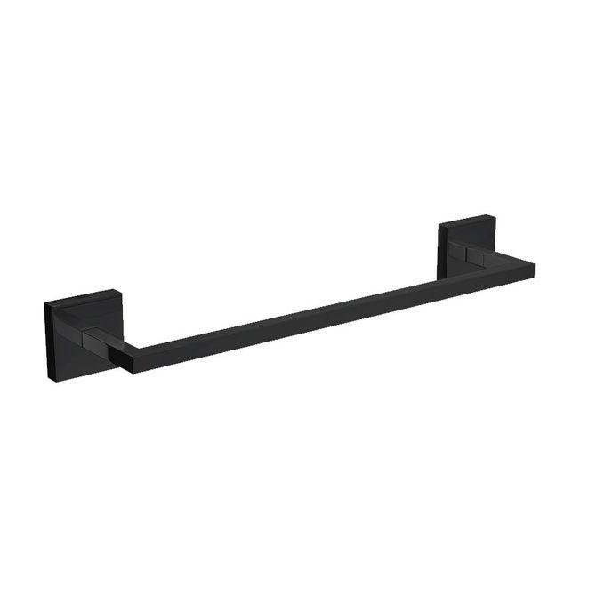 Porta-Toalha-Barra-Clean-Black-Noir-30cm---2040.BL.CLN.030.NO---Deca