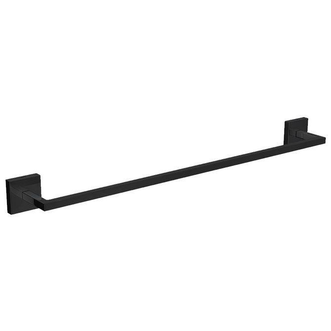 Porta-Toalha-Barra-Clean-Black-Noir-50cm---2040.BL.CLN.050.NO---Deca