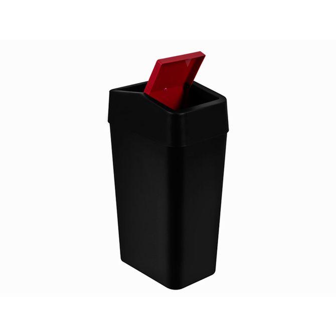 Lixeira-Tampa-Basculante-8-Litros-Vermelha---LTB1-PR-BRD---Astra