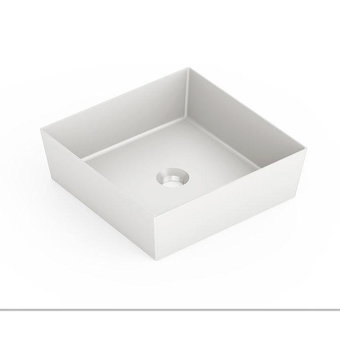 Cuba-de-Apoio-Quadrada-Branco-Matte-38x38cm-Platinum-P5---Incepa
