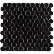 Pastilha-Atlas-Hexagonal-Preto---M4337---Placa-30x30cm---Atlas