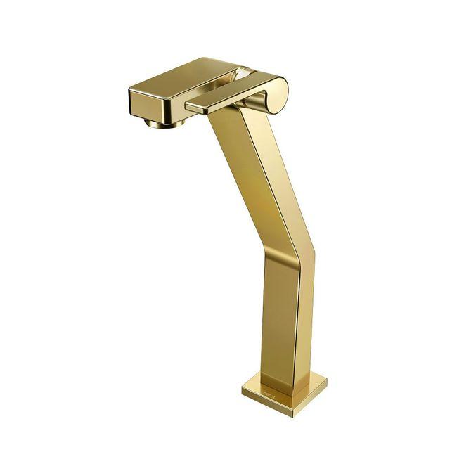 Torneira-para-Banheiro-Mesa--Stillo-Ouro-Polido-Bica-Alta---Docol