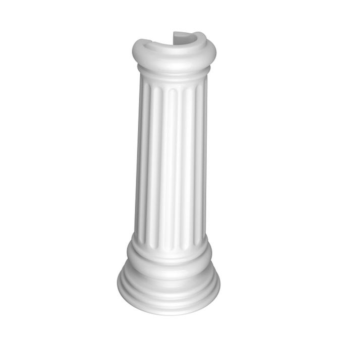Coluna-para-Lavatorio-Windsor-Branca-C17---Deca