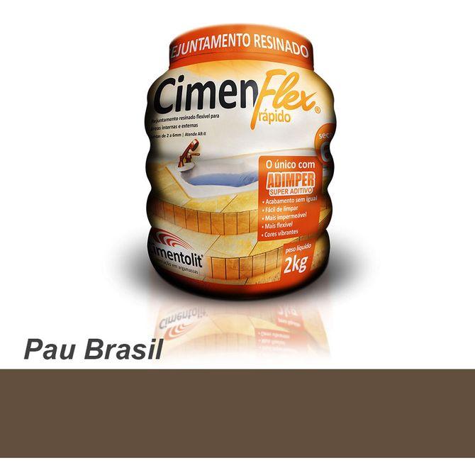 Rejunte-Resinado-Rapido-Cimenflex-2kg-Madeira-Pau-Brasil---Cimentolit