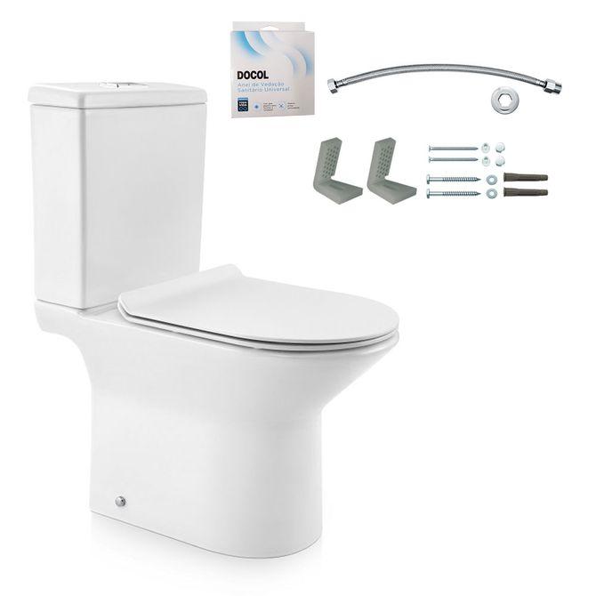 Kit-Bacia-com-Caixa-Acoplada-e-Assento-Lift-Branco---Conjunto-de-Fixacao-Flexivel-e-Anel-de-Vedacao---968766---Docol-1