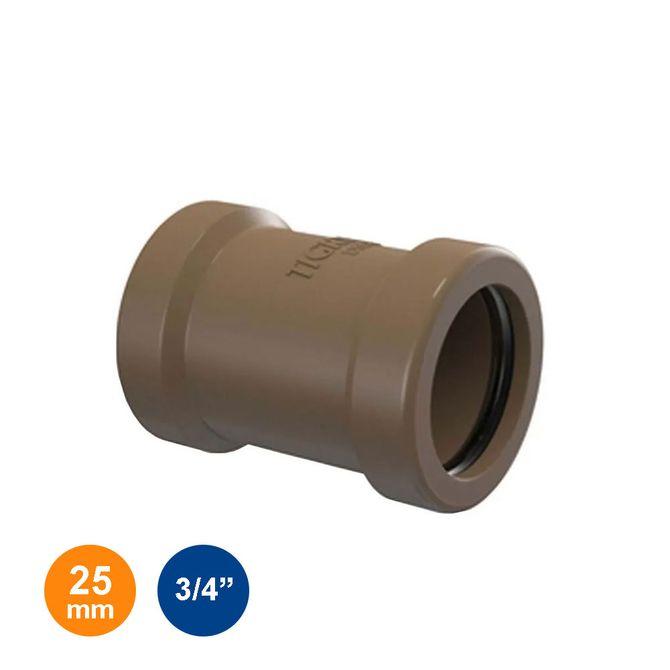 Luva-de-Correr-Marrom-Soldavel-25mm---3-4---Tigre