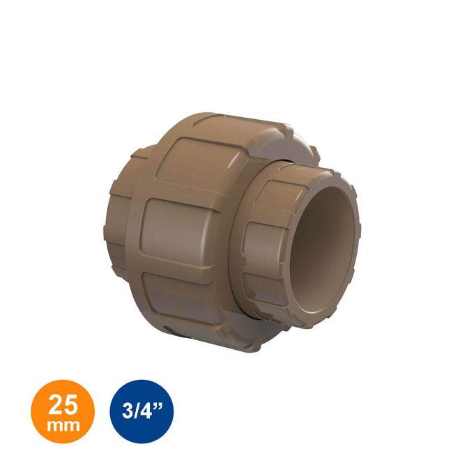 Uniao-Marrom-Soldavel-25mm---3-4---Tigre
