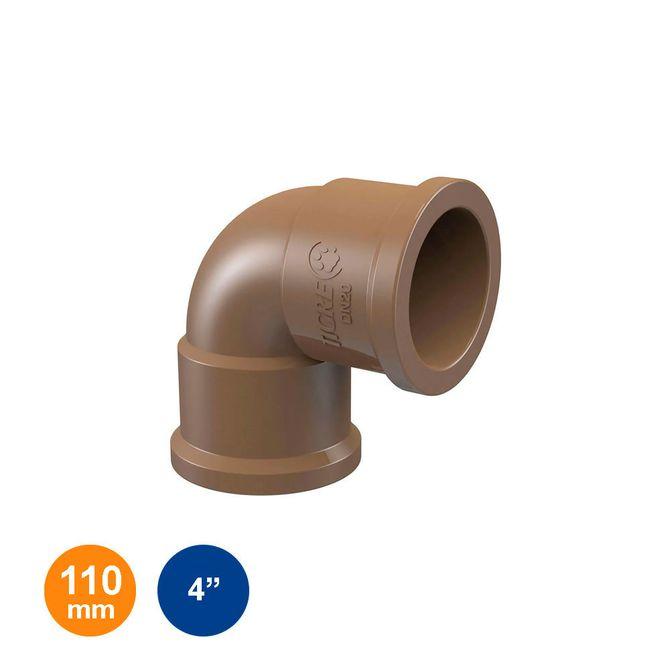 Joelho-90°-Marrom-Soldavel-110mm---4---Tigre