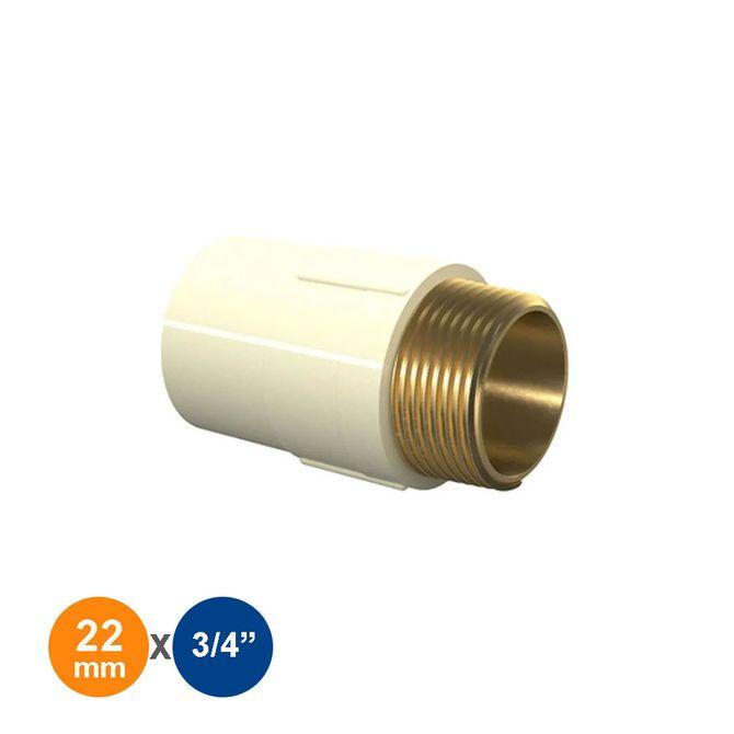 conector-macho-22mm3-4-aquatherm-tigre
