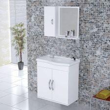 Kit-Gabinete---Espelheira-para-Banheiro-555cm-MDF-Verona-Suspenso-Branco-com-Pia---Rorato-2