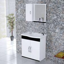 Kit-Gabinete---Espelheira-para-Banheiro-555cm-MDF-Verona-Suspenso-Branco-e-Preto-com-Pia---Rorato-2