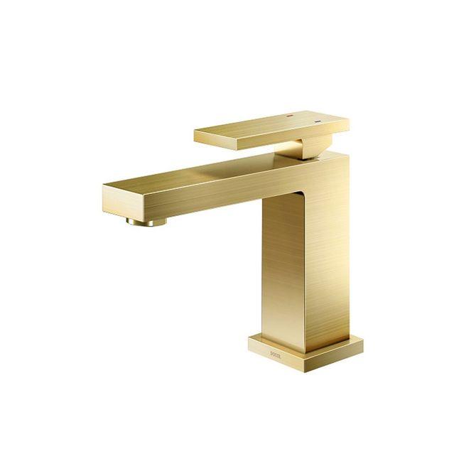 Misturador-Monocomando-para-Banheiro-Mesa-Bica-Baixa-New-Edge-Ouro-Escovado---00925372---Docol