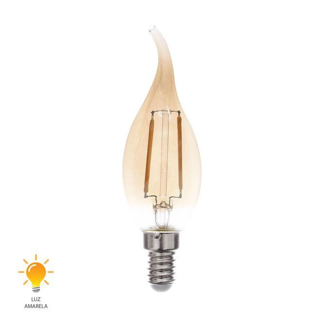 Lampada-LED-Filamento-Vela-Chama-E14-2W-127V-2200K---0324127---Blumenau