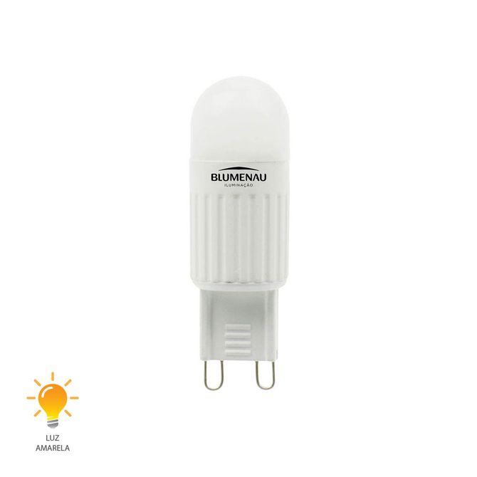 Lampada-LED-G9-25W-Bivolt-Branco-Quente-3000K---02250903---Blumenau