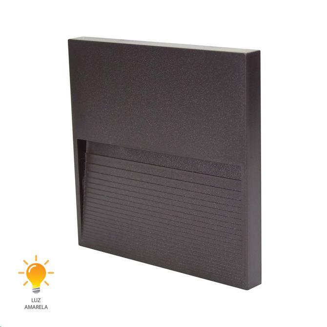 Balizador-Fine-LED-Marrom-12cm-3W-3000K-Bivolt---20433015---Germany