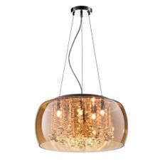 Pendente-Plafon-Cristal-Verona-Ambar-40W---PD-PL400-AB---Kin-Light