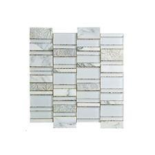 Mosaico-Glazed-Sone-White-30x30cm---74600012---Incepa