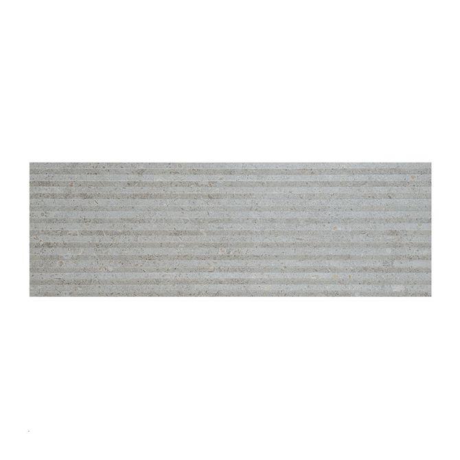 Inserto-London-Gray-MT-Acetinado-Retificado-30x902cm---FFX01AW02---Roca