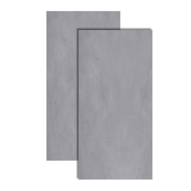Porcelanato-Touch-Gris-Polido-Retificado-60x120cm---FBM015402---Roca