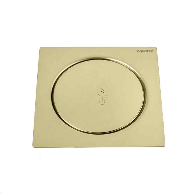 Ralo-Click-Quadrado-Aquainox-15x15cm-Dourado---Stamplas